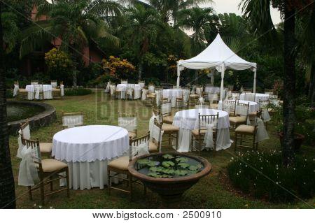 Una boda de jardín
