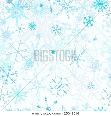 snowfall seamless vector
