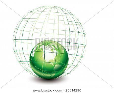 shrunken earth