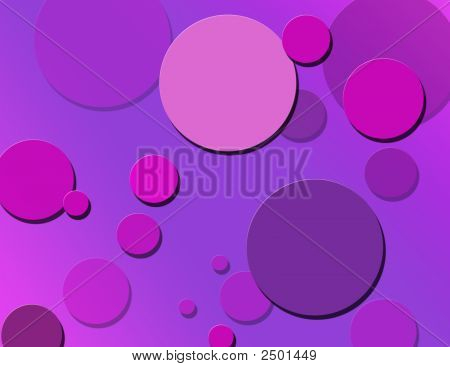 Pink & Purple Polka Dots