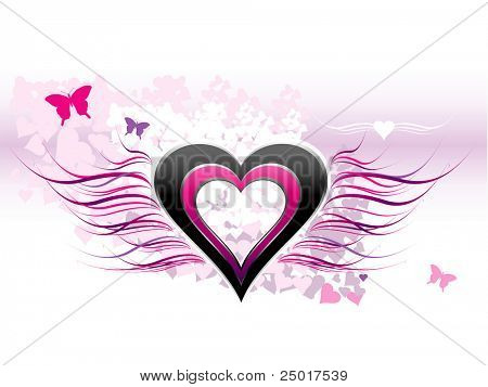 Love - Abstract Background - VECTOR