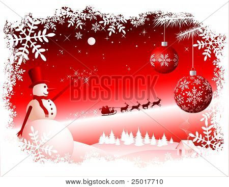 Vector Christmas Background. Check Out My Portfolio For Similar Illustrations ... Enjoy