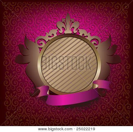 ornate medallion