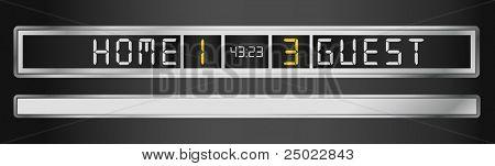 scoreboard-vector