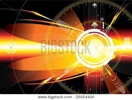 vector file of energy space background