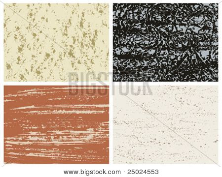 ilustração em vetor de efeito de textura grunge