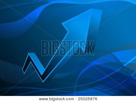 graph of success (Vector)