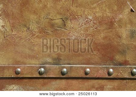 metal rivets background
