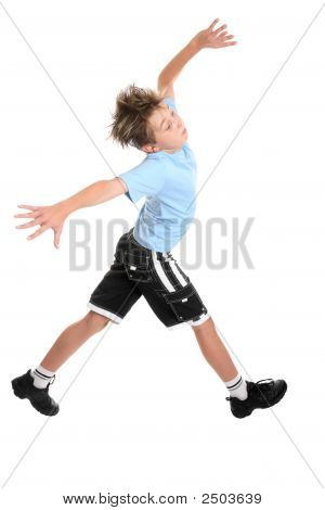 Striding Boy