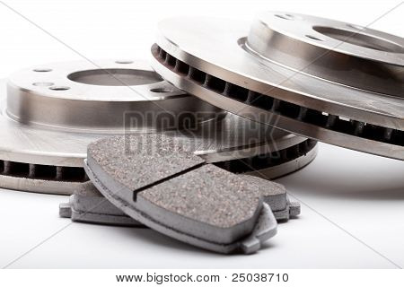 Front Brake Parts Disks and Pads