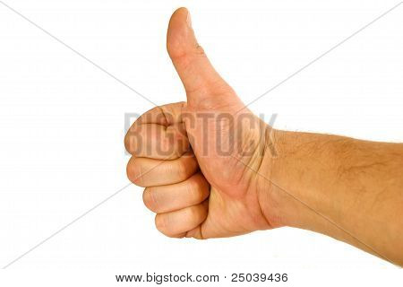 Fist With A Thumb