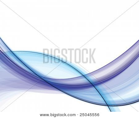 Abstract blue silky background