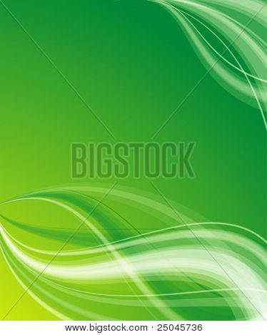 Vector. Abstract silky background with place for your message