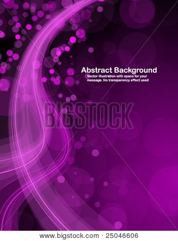 Abstract shiny pink background with space for your message. Vector illustration.