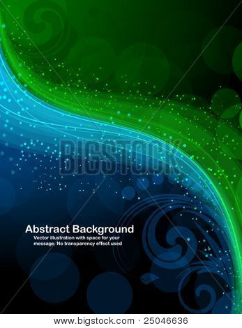 Abstract background with bright sparks. RGB colors.