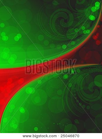 Complementary colors. Background with space for your message