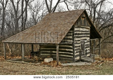 Picture Or Photo Of Log Cabin From The 1800