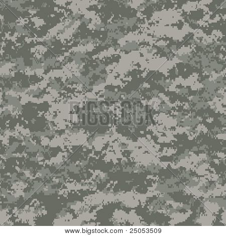 digital camouflage seamless patterns (universal palette)