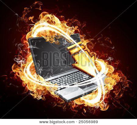 Fiery computer