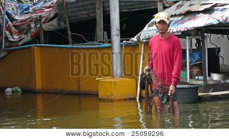 Fishing in the Flood Waters
