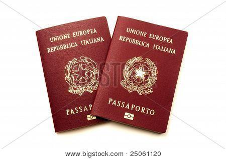Italian Biometric E-passports