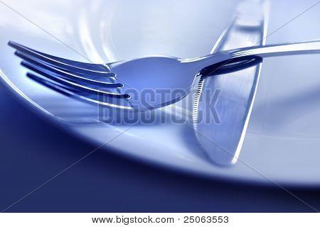 Tenedor de plato de cuchara