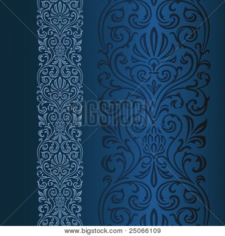 Ornamental border.  pattern can be easily repeated until desired length.