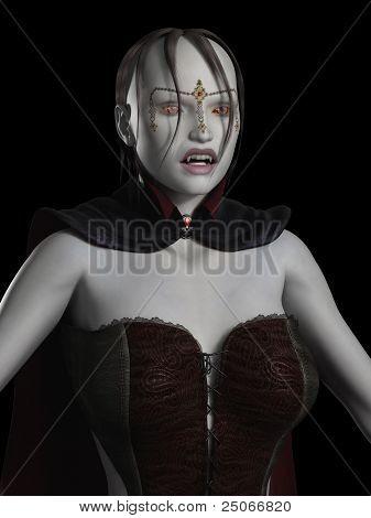 Female Vampire Portrait