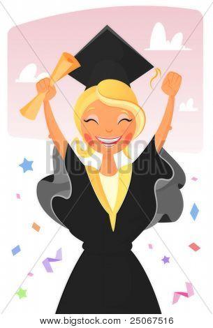 graduated girl