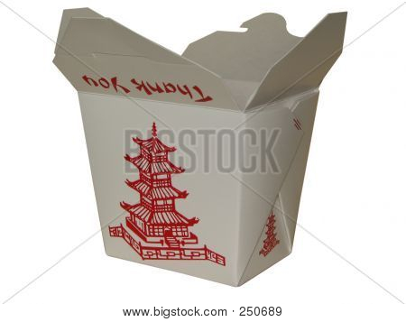 Small Chinese To Go Box
