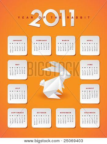 Year 2011 calendar