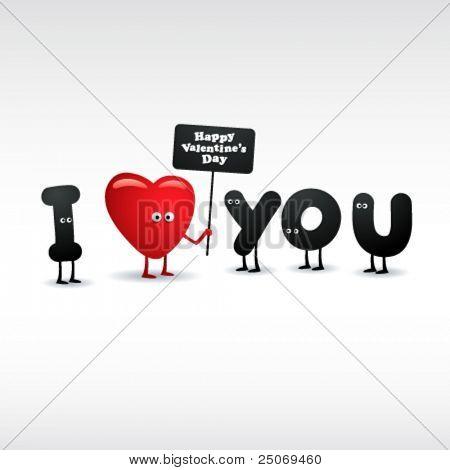 Grappige Valentijnskaart