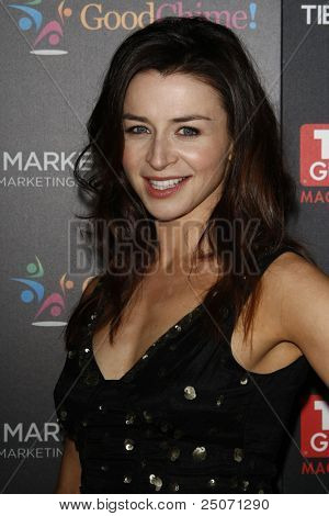 LOS ANGELES - NOV 7: Caterina Scorsone at the TV Guide Magazine Hot List Party held at the Greystone Manor on November 7, 2011 in Los Angeles, California