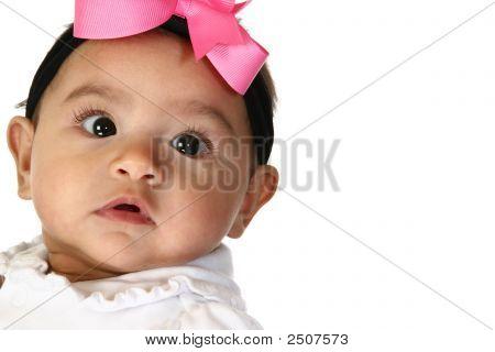 Beautiful Hispanic Baby Girl