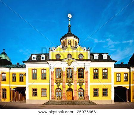 Belvedere Castle near Weimar in germany