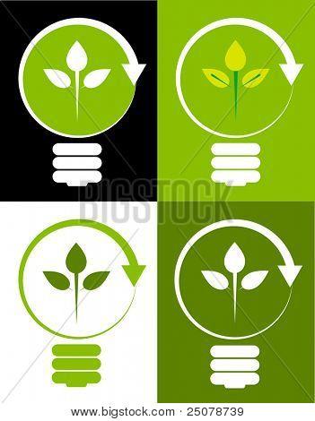 erneuerbare green Energy Concept.