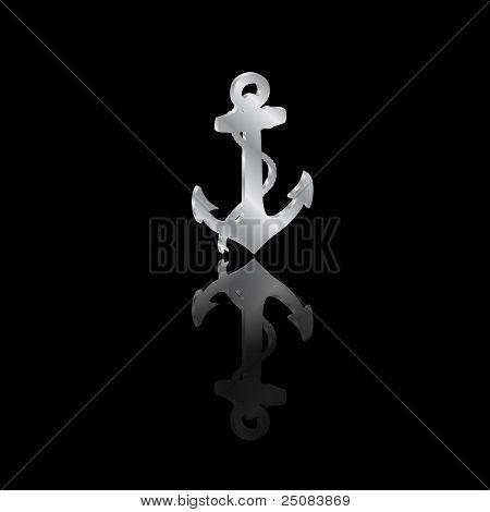 Anchor Black Reflection.eps