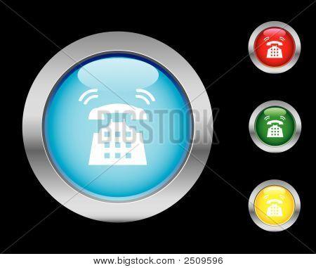 Icono de llamada telefónica