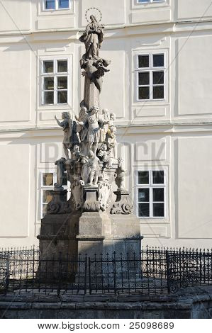 Immaculata Maria pillar Banska Stiavnica