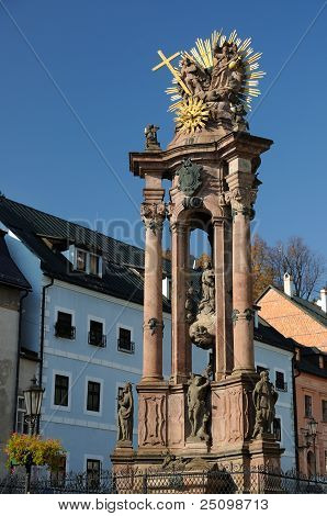 Holy Trinity Plague Column in Banska Stiavnica