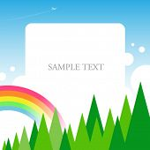 image of text-box  - Vector text panel - JPG
