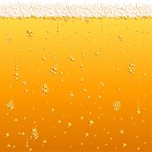 stock photo of drawing beer  - Beer texture - JPG