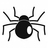 Female Mouse Spider Icon. Simple Illustration Of Female Mouse Spider Vector Icon For Web Design Isol poster
