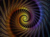 Spiral Backdrop poster