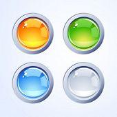 Постер, плакат: Интернет кнопки