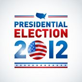 stock photo of election campaign  - US presidential election in 2012 - JPG