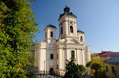 stock photo of banska  - Parish church in Banska Stiavnica - JPG