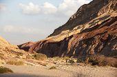 pic of bagpack  - Hiking in Negev desert of Israel  - JPG