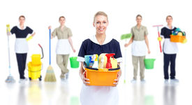 pic of house cleaning  - Cleaner maid woman group - JPG