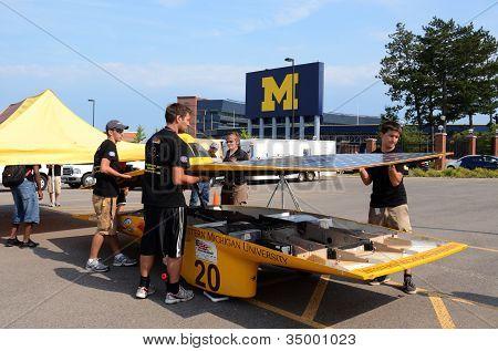 Western Michigan University's Solar Car